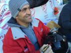 Max Verderosa ad Eicma 2015 dona il suo casco alla MRO