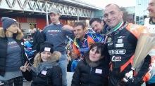 Max Verderosa premiazione Eicma Charity Race for MRO 2015