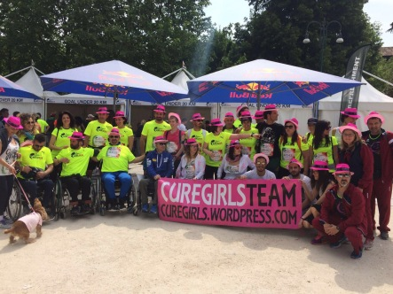 CURE GIRLS TEAM